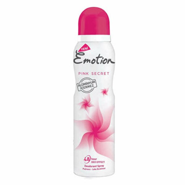 Emotion Kadın Deodorant 150 ML Pink Secret