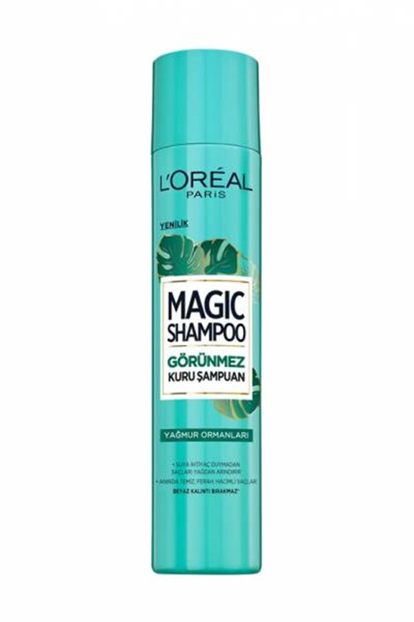 LOreal Paris Magic Shampoo Yağmur Ormanları 200 ML