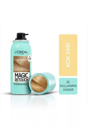 Loreal Paris Magic Retouch 09 Açık Sarı