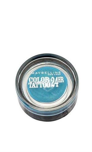 Maybelline New York Color Tattoo 24H Göz Farı - 20 Turquoise Forever - Turkuaz