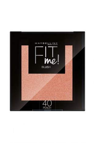 Maybelline New York Fit Me Allık 40 Peach