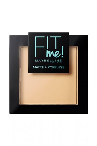 Maybelline New York Fit Me Matte Poreless Pudra 110 Porcelain