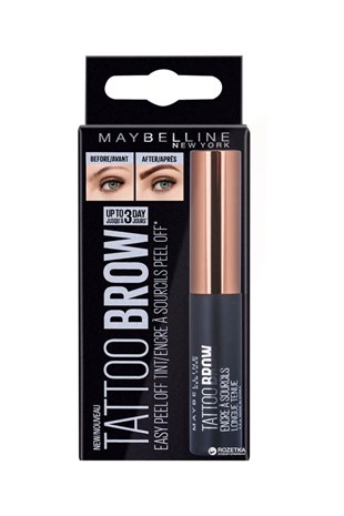 Maybelline New York Kaş Jeli Brow Tattoo Gel Tint Dark Brown