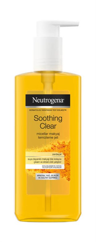Neutrogena Soothing Clear Micellar Jel 200 ml