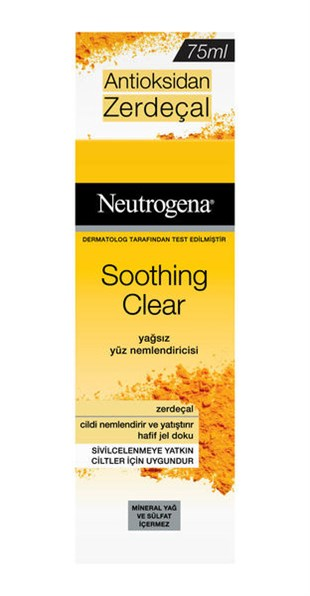 Neutrogena Soothing Clear Yağsız Nemlendirici 75 ml