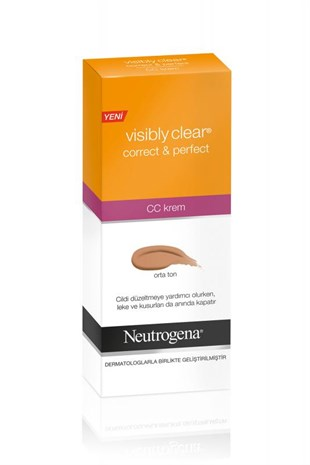 Neutrogena Visibly Clear Cc Krem Orta Ton 50 ML