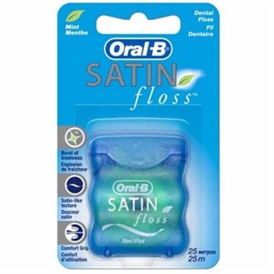 Oral-B Diş İpi 25 M Satin Floss