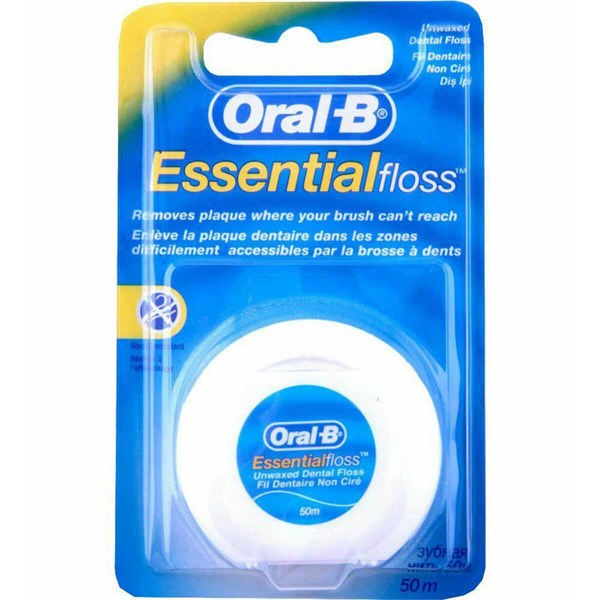Oral-B Diş İpi 50 M Essential Floss Unwaxed