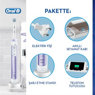 Oral-B Genius 10 Dragon Fly Special Edition Orchid Purple